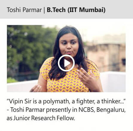 Toshi Parmar | B.Tech (IIT Mumbai)