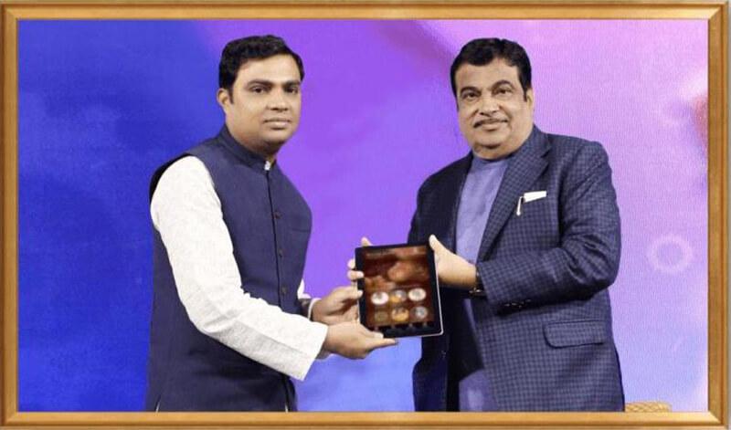 Prof. Vipin Joshi Appreciated by Shree Nitin Gadkari