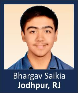 Bhargav Saikia Jodhpur