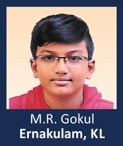 M.R. Gokul Ernakulam