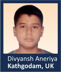 Divyansh Aneriya Kathgodam