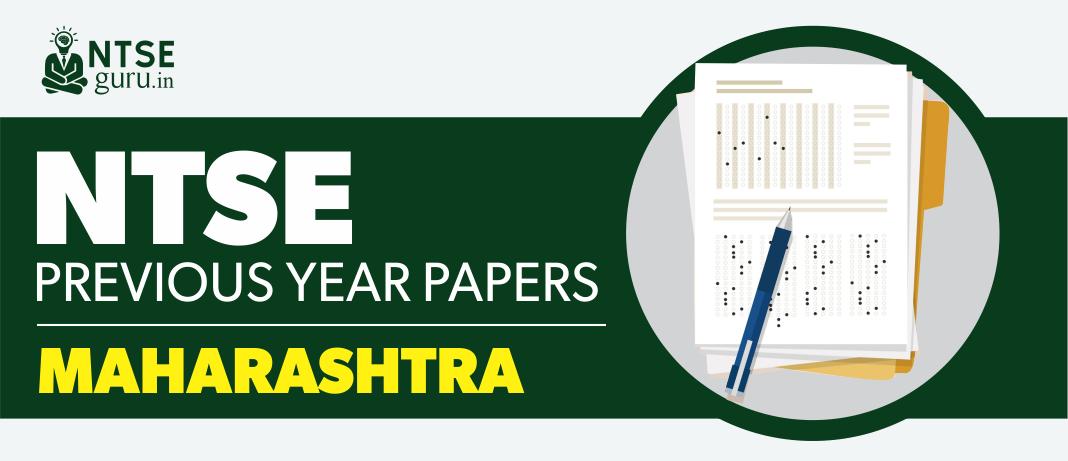 NTSE Maharashtra Previous Year Question Papers